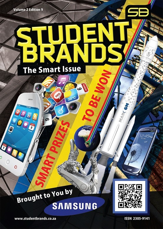 The Student Brands #SmartEdition is on campus.  Endorsed by Samsung South Africa giving away S4 phones. Featuring Pentel South Africa #StudentMobile #OkFurniture Cool stations like Teebaas Mfm92.6 UCT Radio 104.5fm VOW FM (Voice of Wits) and not to forget #Uyazi & MUGG & BEAN SA