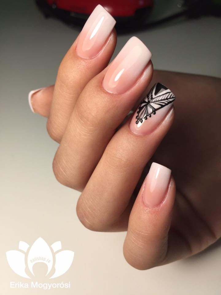 #babyboomer #lovely #delicate #stylish #nails #nailshop