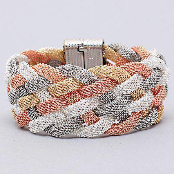 Brice Bracelet in Quad Tone on Emma Stine Limited