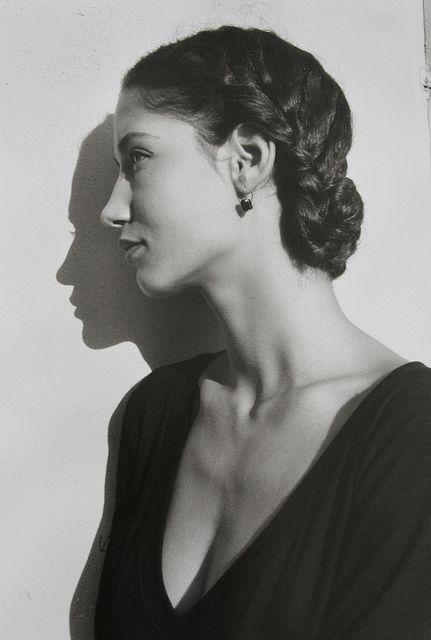 """Model Marpessa for Dolce & Gabbana campaign"" 1987, photo by Italian photographer FERDINANDO SCIANNA"