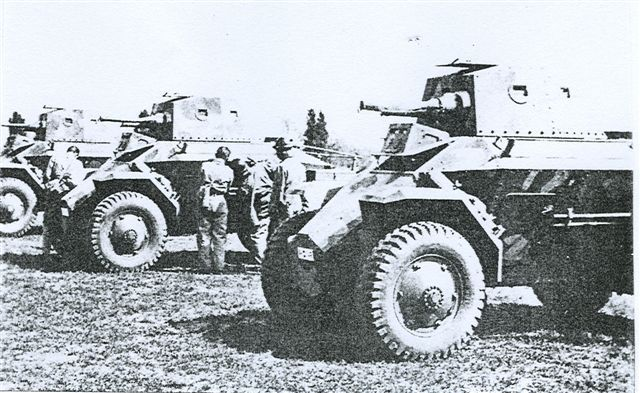39M Csaba armoured cars