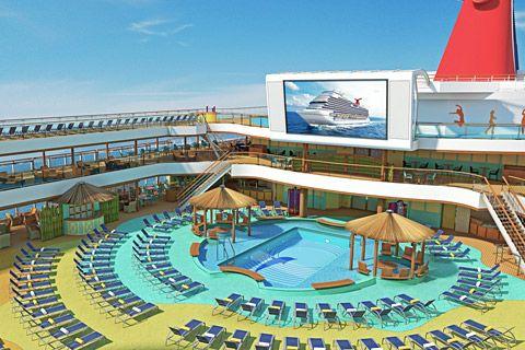 Carnival Magic Cruise to Montego Bay, Jamaica, Grand Cayman, Cayman Islands & Cozumel, Mexico April 07-14, 2013
