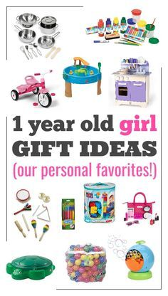 The best gift ideas for a 1 year old girl. These are our favorite gift ideas for first birthdays or Christmas presents for a one year old girl.