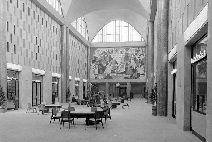 Railways terminal. Debrecen, 1961