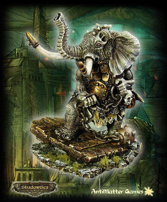 Axibalan Empire - Koth-Yan: Elephant Beastman