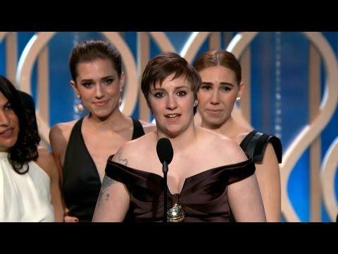 """Best TV Series - Comedy or Musical: """"Girls"""" - Golden Globe Awards"""