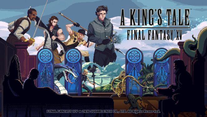 """""""Il a logiquement parlé technique et Final Fantasy XV, Square Enix ayant même partagé une vidéo..."""" #finalantasy15 #kingstale #rpg https://ps4pro.eu/fr/2004/09/03/a-kings-tale-final-fantasy-xv-bande-annonce-de-lancement-video/"""