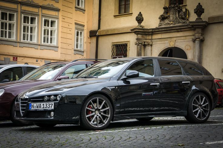 Alfa Romeo 159 Sportwagon Turismo Ti - Prague Czech Republic