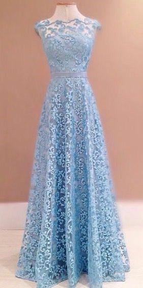 2017 Custom Made Charming Lace Prom Dress,Sexy Sleeveless Evening Dress, Floor Length Prom Dress