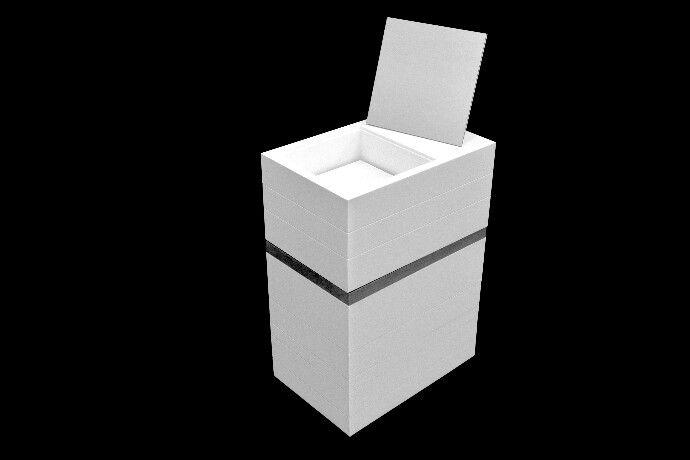 MyBath Levels by SIT  www.mybath.pl  www.facebook.com/mybathpl  #corian #mybath #interiordesign #bathroom #bathroomdesign