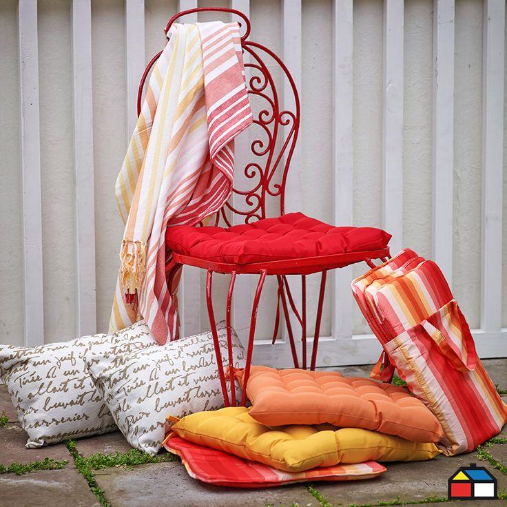 Cojines para tu #terraza #jardin