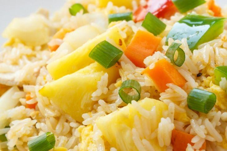 Un riz frit à l'hawaienne..Laissez vous charmer, il est exquis !