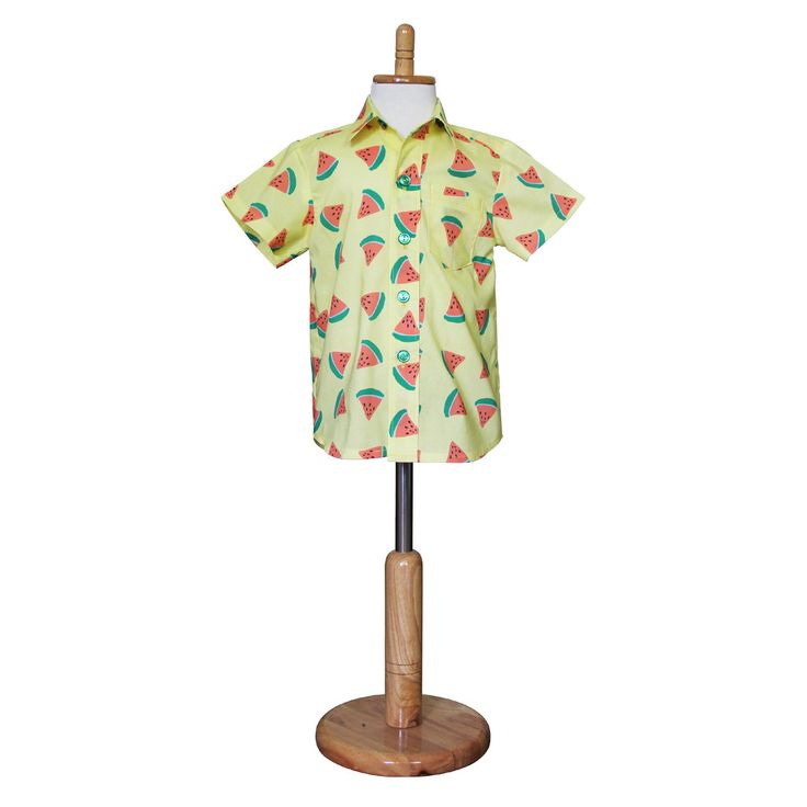 Happy Chappy Watermelon Boys' Shirt – happy chappy