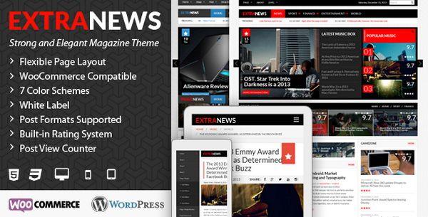 ExtraNews – Responsive WP Theme