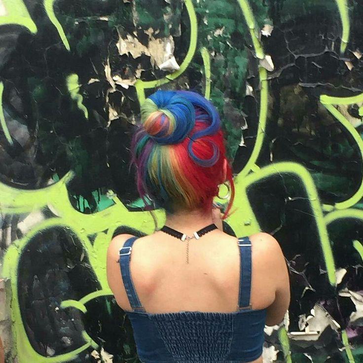 RAINBOW HAIR  #RainbowHair