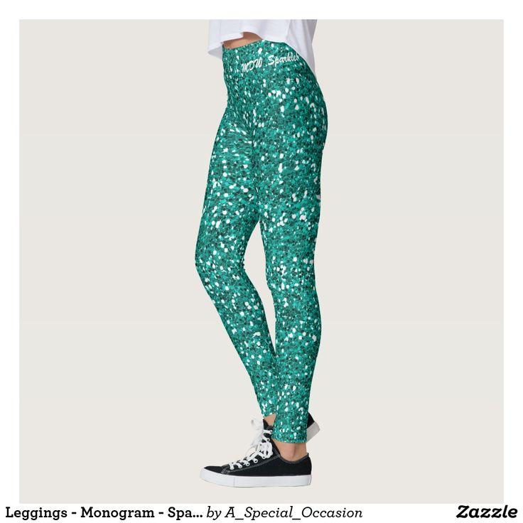 Leggings - Monogram - Sparkle!