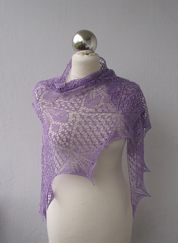 35 best images about Knitting - Shawls, Scarves, Capes, etc. on Pinterest W...