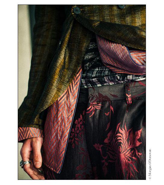Backstage at Haider Ackermann Spring/Summer 2015   Vogue English