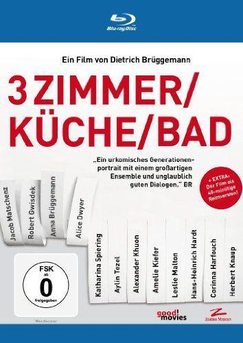 3 Zimmer/Küche/Bad [Blu-ray]: Amazon.de: Jakob Matschenz, Aylin Tezel, Robert Gwisdek, Anna Brüggemann, Alice Dwyer, Alexander Khuon, Hans-H...