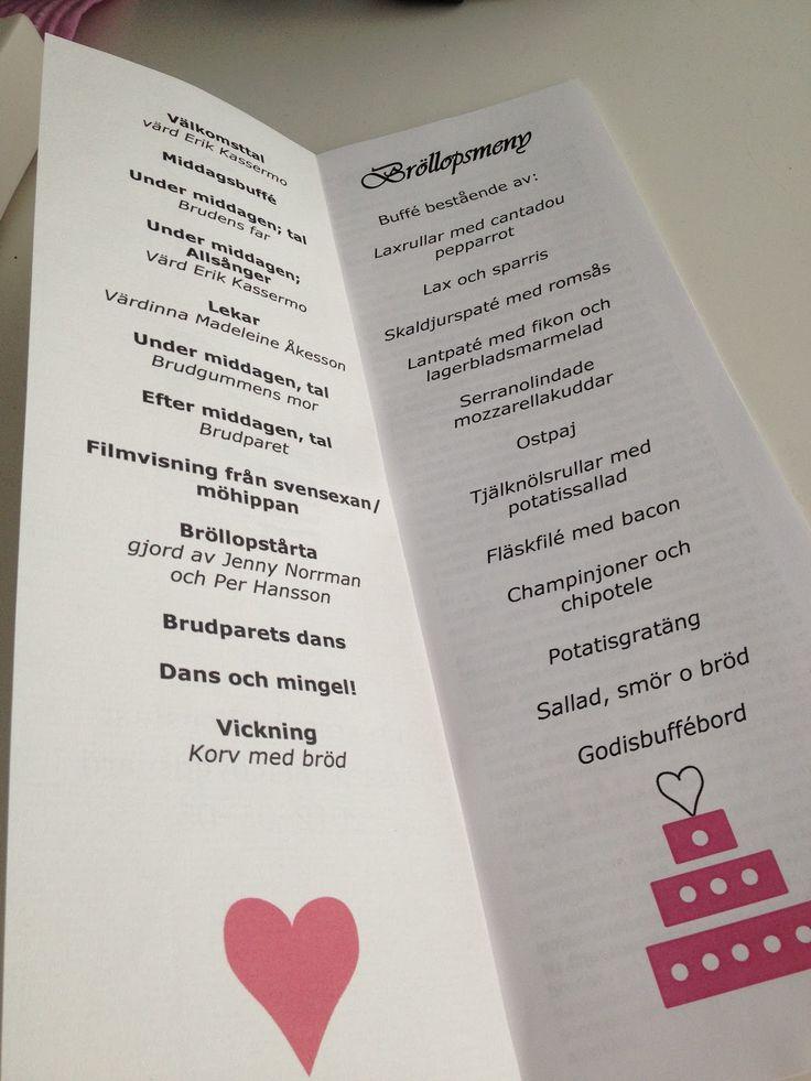 Lindisens hem, välkommen!: Tips till bröllopet, bröllopsfesten och festprogrammet! Do´s and dont´s! :)