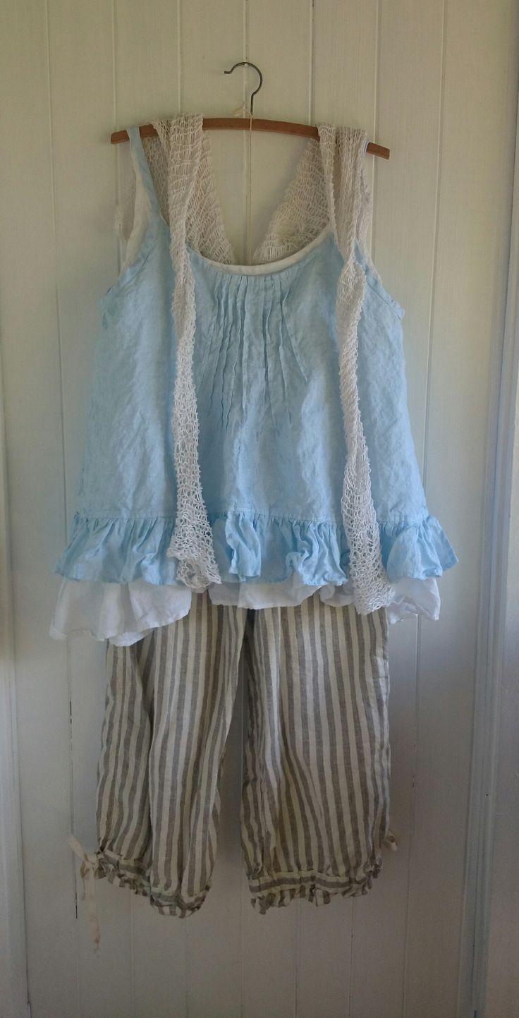 Pale Blue Camisole MegbyDesign