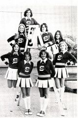 Fort Worth Southwest High School  1978 Cheerleaders (texasretrocheer2) Tags: white socks high shoes cheerleaders 70s cheerleader 1970s knee saddle kneesocks saddleshoes whitekneesocks
