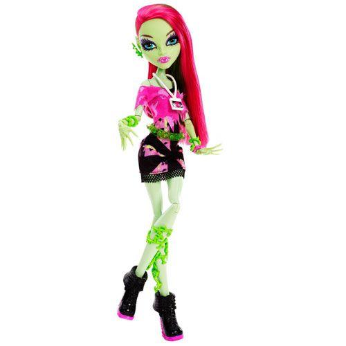 Vampirii adora sa petreaca iar un festival muzical se anunta spectaculos! In Monster High gama festivalul de muzica fiecare iubitor de muzica este imbracat conform genului de muzica preferat. Venus McFlytrap vrea sa ii inspire pe ceilalti cu stilul ei hip pentru cei neinitiati. Clawdeen Wolf adora stilul rock & roll  intr-un costum stil R&B aratand feroce – ca intotdeauna! Si Abbey Bominable defineste un stil de muzica asociat cu mostenirea Himalayana.