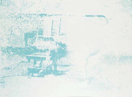 'Chaise électrique' de Andy Warhol (1928-1987, United States)