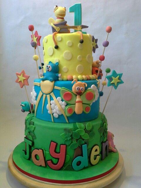 Big Bug Band. Baby TV. Nai Nai's cake creations. Birthday cakes kids