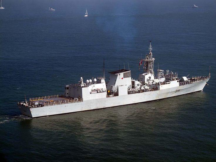 Royal Canadian Navy  Halifax-class frigate HMCS Ottawa (FFH 341).