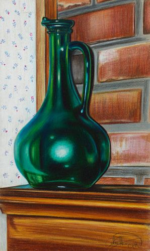 Colored pencil drawing by Lee Hammond. Learn her techniques at ArtistsNetwork.com! ^ch #drawing #coloredpencil
