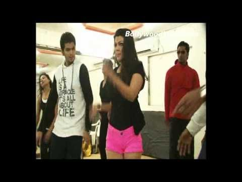 Rakhi Sawant's EXCLUSIVE dance rehearsal video | BEHIND THE SCENES.