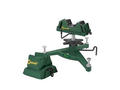 Benches and Rests 177887: Caldwell 383640 Rock Front Shooting Rest And Rear Bag Combo BUY IT NOW ONLY: $84.94