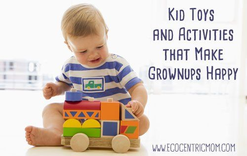 Do you shudder at the thought of plastic toys flooding your house? Jointhe club! Not every family wants to collect piles of plastic debris only to be neglected and stepped on. We get it – you want to provide stimulating play for your children while keeping the mayhem down to a minimum. We'd love to [ ] The post Kids Toys and Activities that Make Grownups Happy appeared first on Ecocentric Mom.