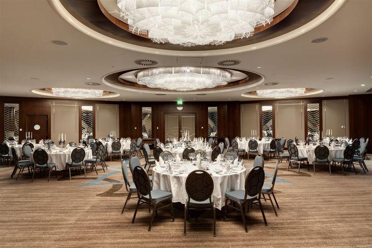 Hilton Hotel Bursa, Turkey. #conference #room #hotel #meetings #bohemian #crystal #lighting #design