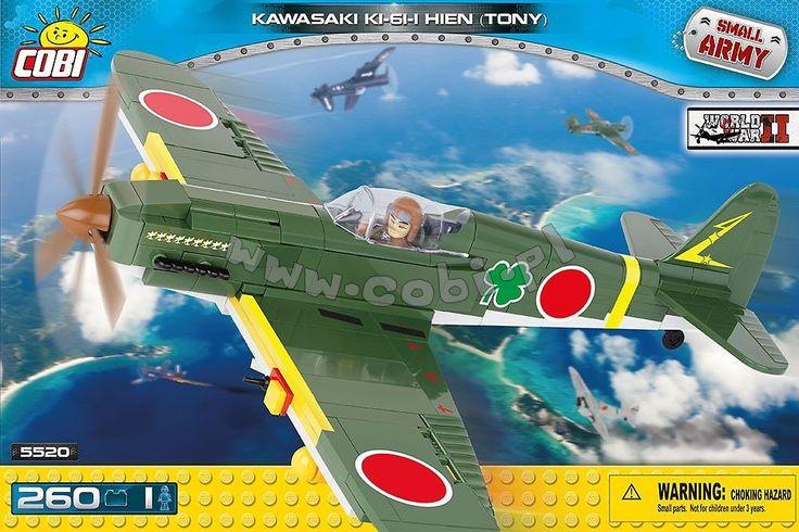 Kawasaki Ki-61-I Hien 'Tony' - myśliwiec japoński