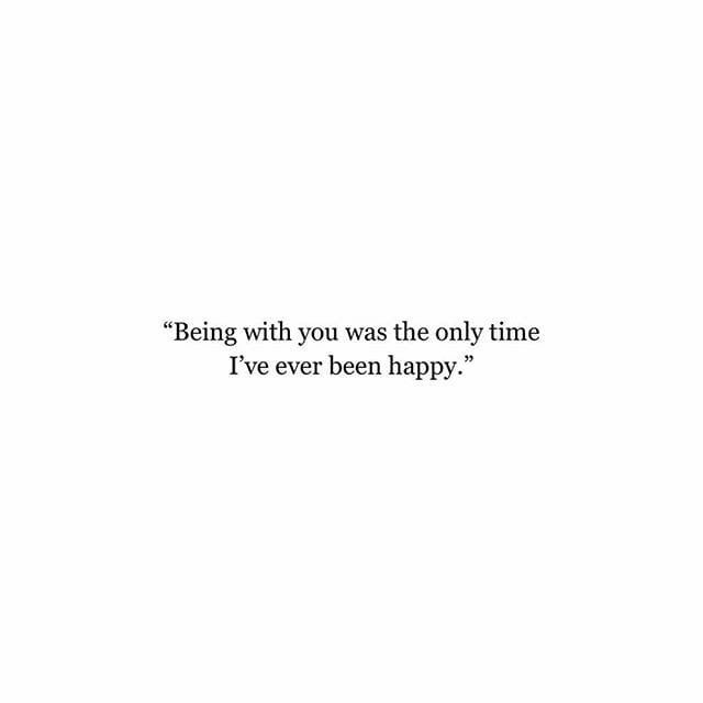 Deep Happy Quotes I wanna be happy again with you, Regina! | tru tho | Love Quotes  Deep Happy Quotes
