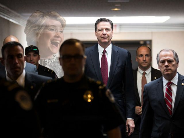 09/01/17 JAMES COMEY MOVED TO EXONERATE CLINTON BEFORE FBI INTERVIEWED HER OR OTHER KEY WITNESSES ~ Former FBI Director James Comey began drafting a letter exonerating Hillary Clinton from any wrongdoing related to the email scandal long before the FBI investigation was over, according to a released letter. Chuck Grassley and Lindsey Graham, in a letter dated Aug 30, requested more information from the FBI on Comey's actions, as part of an investigation into his firing by Pres Trump in June.