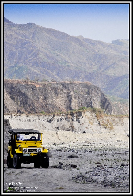 4x4 atv ride at the skyway of Mt. Pinatubo.  Copy Pinatubo Trek 013 by worldslocalcitizens, via Flickr