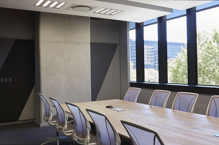 Redefine Office Boardroom. Interior design by Source Interior Brand Architecture.