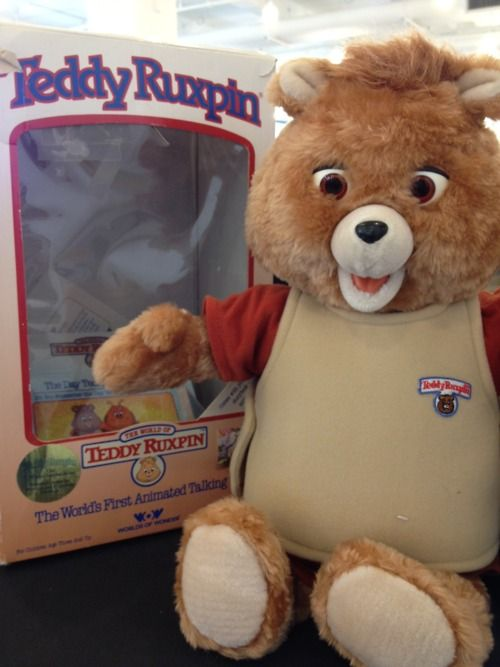 Teddy Ruxpin! I can't remember ever wanting something more than I wanted one of these. I never did get one.