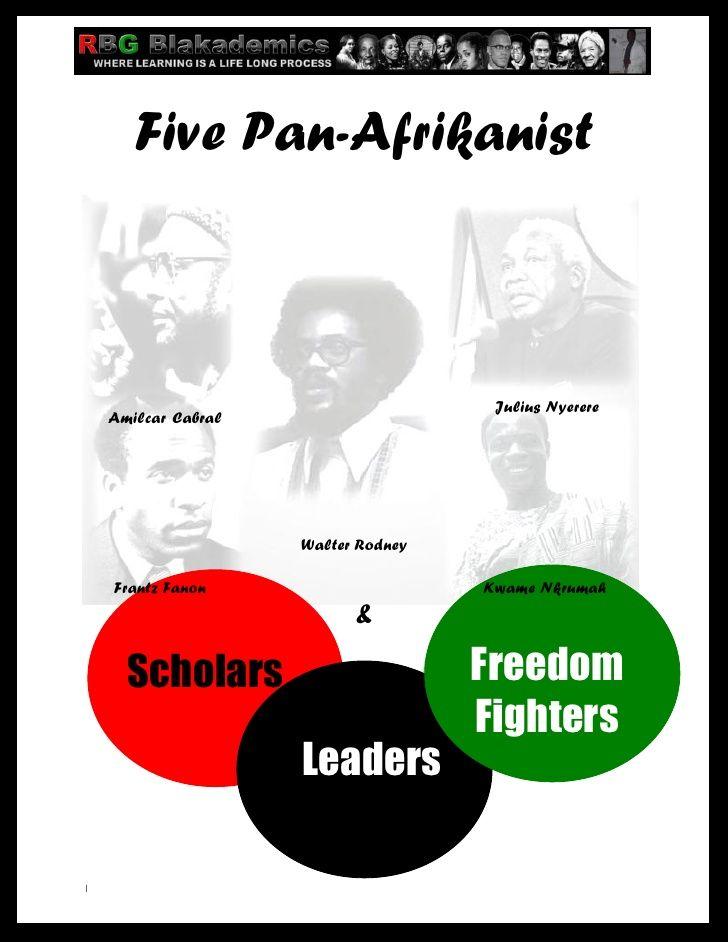 Five Pan-Afrikanist                                                             Julius Nyerere    Amilcar Cabral          ...