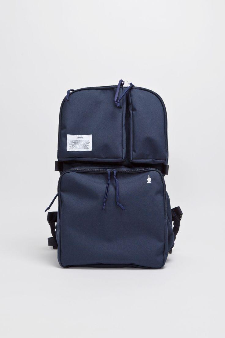 Undercover - Nylon Backpack Navy | TRÈS BIEN SHOP