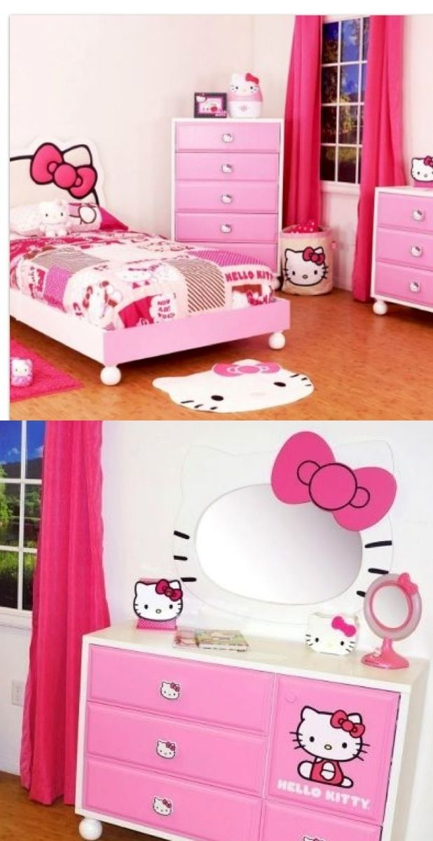 hello kitty bedroom stuff