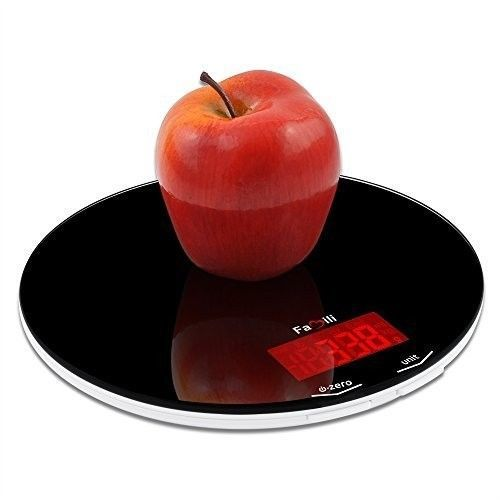 Digital Kitchen Food Scale Electronic Weighing Diet Scales Compact 11 Lb Weight #DigitalKitchenFoodScale