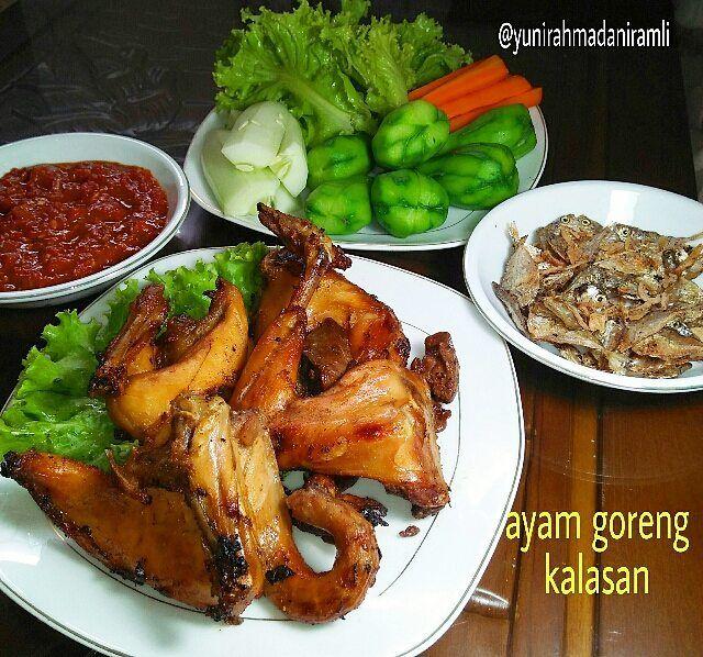 Alhamdullilah Menu Hari Ini Ayamgorengkalasan Sambalterasi Lalapan Ikanasin Resep Ayam Goreng Kalasan 1 Ekor Ayam K Resep Ayam Ayam Goreng Resep Masakan