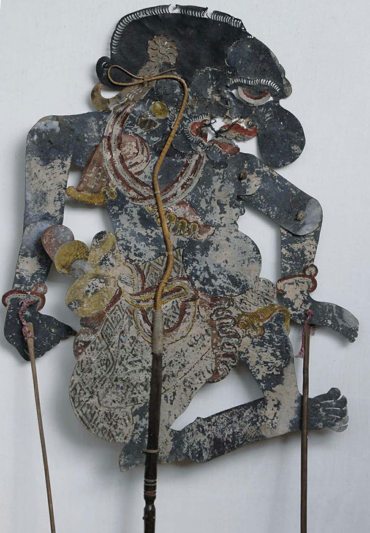 BUTO TERONG (Eggplant Giant) in Wayang Kulit (leather puppet)