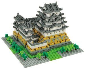 Nanoblock Deluxe Castle Himeji by Nanoblock. $100.95. Collect, build and display your works of art.. A 3D work of art creates details with assorted sizes and colored pieces.. Not compatible with Lego blocks. Micro-sized building blocks will enable you to execute even the finest  details like never before. Includes detailed color instructions.. From the Manufacturer                You don't have to be an engineer to create with Nano Blocks!  With these micro-sized building block...