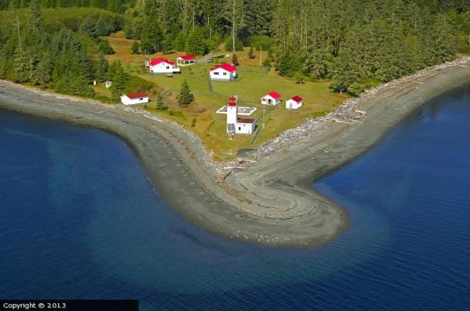 Pulteney Point lighthouse [1943 - Malcolm Island, Vancouver Island, British Columbia, Canada]