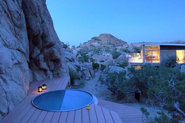 beautiful house in the mojave desert by o2Architects